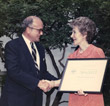 Ed McMullen And Nancy Reagan 2